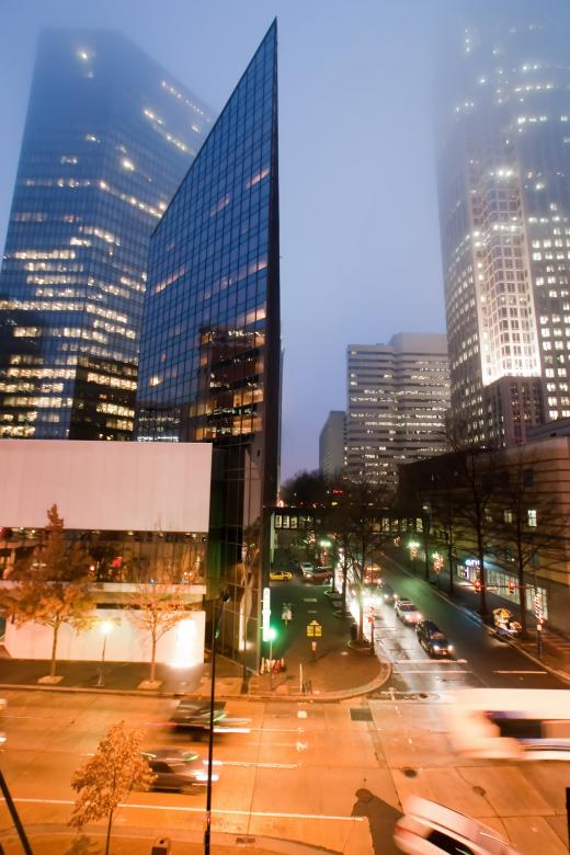 Free Stock Photo of Charlotte financial district Created by agphotostock.com