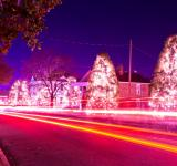Free Photo - Christmas town usa