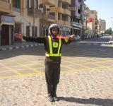 Free Photo - Traffic policeman in Egypt