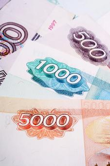 Russian banknotes - Free Stock Photo