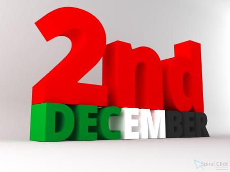 UAE National Day 2nd December - Free Stock Photo