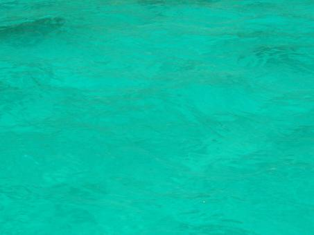Turquoise Ocean Background - Free Stock Photo