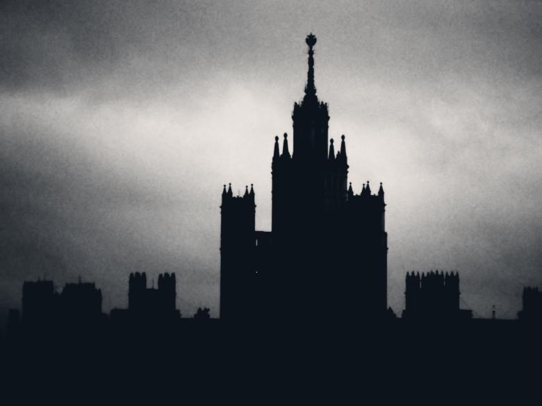 Stalin skyscraper - Free Spooky Stock Photos