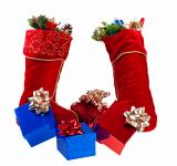 Free Photo - Christmas stockings