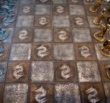 Free Photo - Medieval chess board