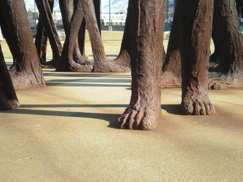 Free Stock Photo of Agora (feet) Created by John C. Thomas