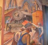 Free Photo - Coit Mural Workmen