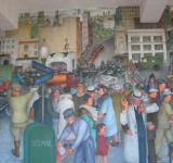 Free Photo - Coit Mural Streetscape
