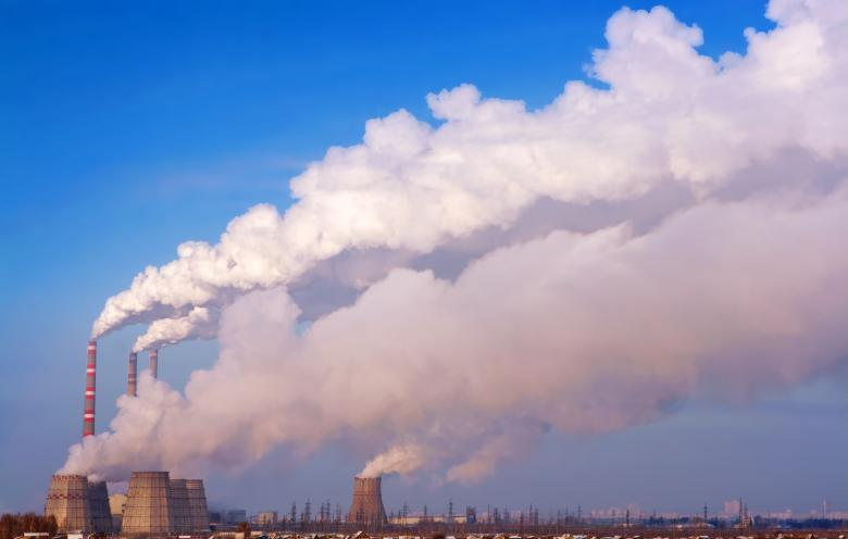 Free Stock Photo of Global Warming - Factory Pollution Created by 2happy