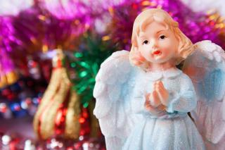 Christmas angel Free Photo