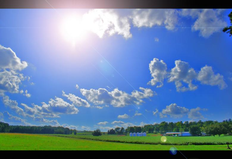 Free Stock Photo of Sunny sky with clouds Created by agphotostock.com