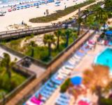 Free Photo - Tilt-shift Beach