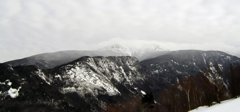 Free Stock Photo of Cannon mountain in winter Created by agphotostock.com