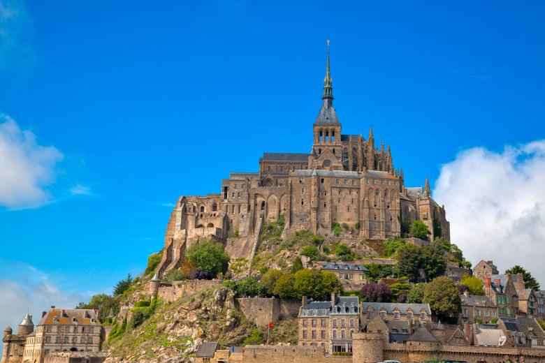 Free Stock Photo of Mont Saint-Michel Created by Nicolas Raymond