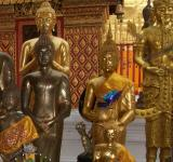 Free Photo - Gold and Brass Buddhist Statues