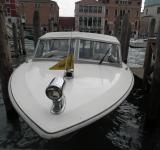Free Photo - A water taxi in Venice