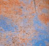 Free Photo - Blue Cracked Metal Texture