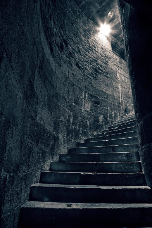 Free Stock Photo of Stairway to Heathens - HDR Created by Nicolas Raymond
