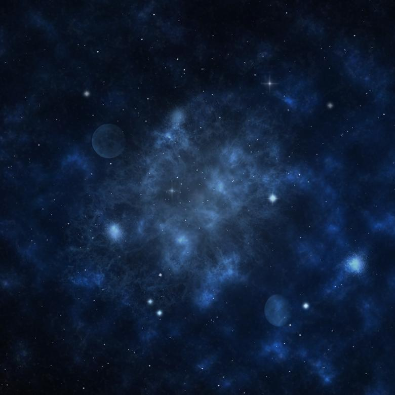 Free Stock Photo of Starfield Created by Alen