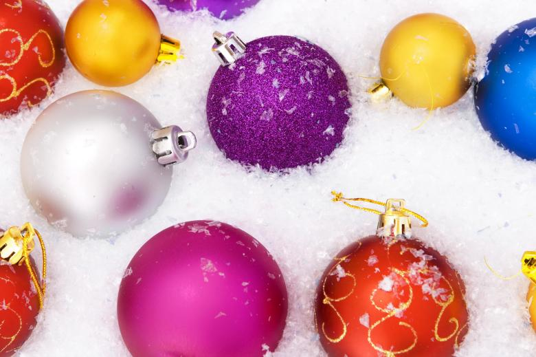 Free stock image of Christmas balls created by 2happy
