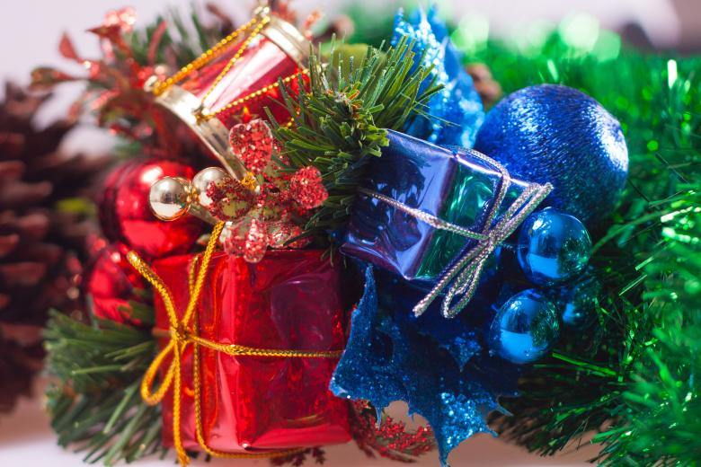Free Stock Photo of Christmas Ornaments Created by Geoffrey Whiteway