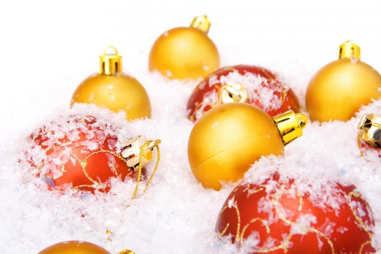 Christmas balls - Free Christmas Stock Photos