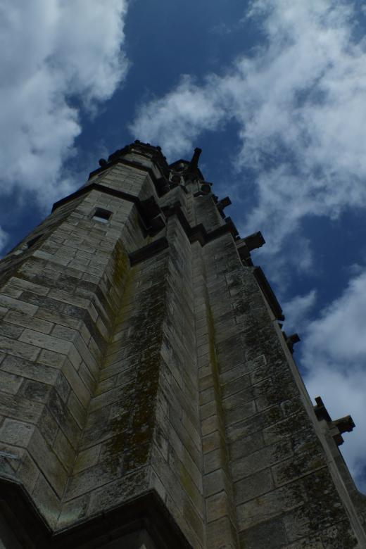 Free Stock Photo of Castle Tower - Looking up Created by Stephan Gerlach