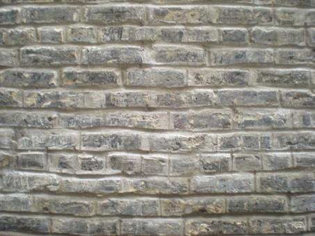 Tuckpointed Horizontal Light Brick Wall - Free Stock Photo