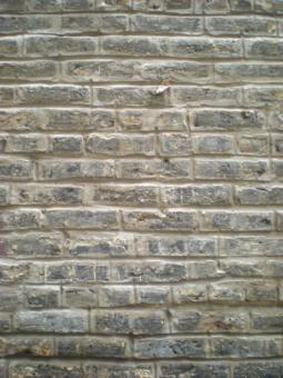 Tuckpointed Vertical Light Brick Wall - Free Stock Photo