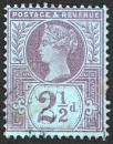 Free Photo - Blue-Violet Queen Victoria Stamp