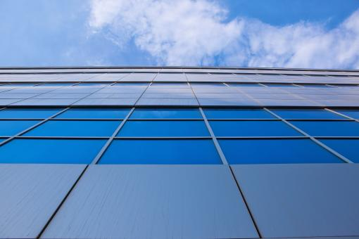 building and blue sky - Free Stock Photo