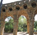Free Photo - Barcelona Guell park bridge