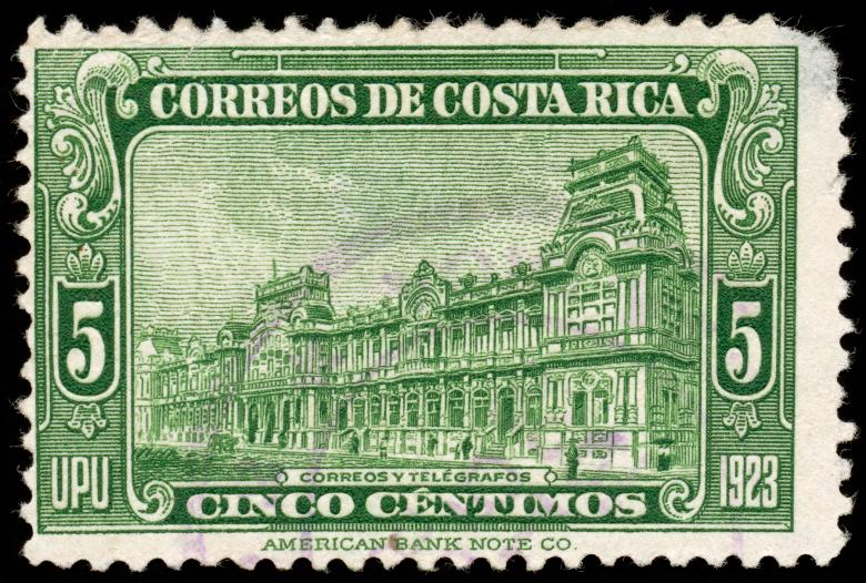 Free Stock Photo of Green Post Building Stamp Created by Nicolas Raymond