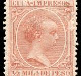 Free Photo - Brown King Alfonso XIII Stamp