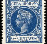 Free Photo - Blue King Alfonso XIII Stamp