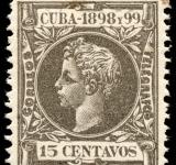 Free Photo - Grey King Alfonso XIII Stamp