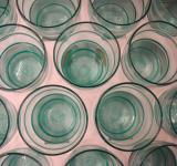 Free Photo - Blue water glasses