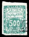 Free Photo - Green Art Nouveau Stamp