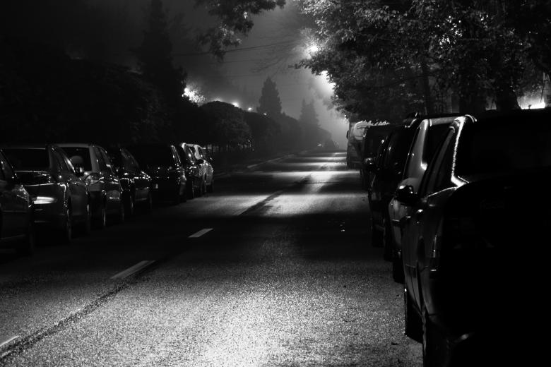 Free Stock Photo of Street on night Created by Octavian