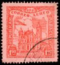 Free Photo - Red Asuncion Cathedral Airmail Stamp
