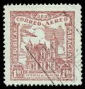 Free Photo - Brown Asuncion Cathedral Airmail Stamp