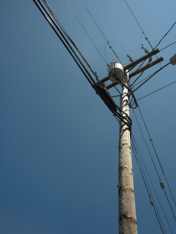 Free Stock Photo of Telephone Wires Created by Joseph Hart