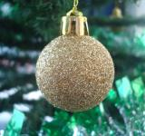 Free Photo - Golden Christmas ball