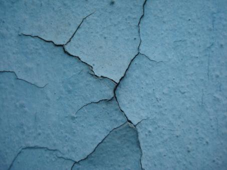 Cracked paint texture - Free Stock Photo