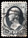 Free Photo - Gray Alexander Hamilton Stamp