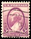 Free Photo - Violet Susan B. Anthony Stamp