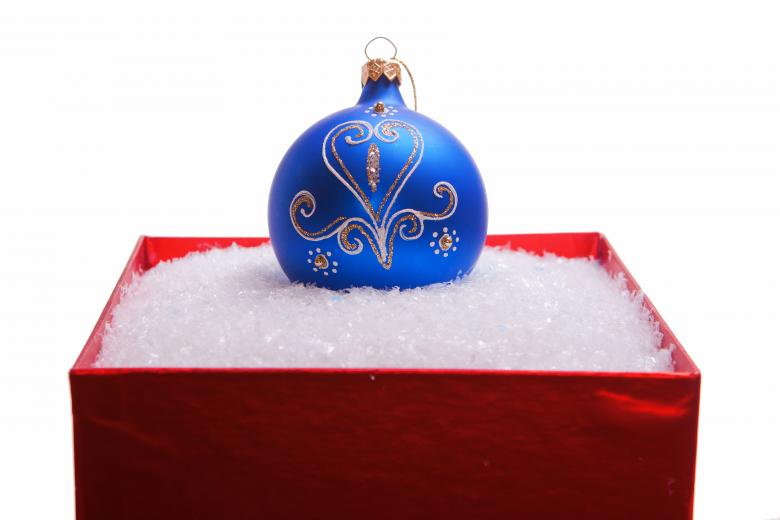 Free stock image of christmas ball created by 2happy