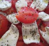 Free Photo - Tomatoes and mozzarella salad