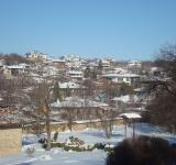 Free Photo - The snowy town of Arbanasi, Bulgaria