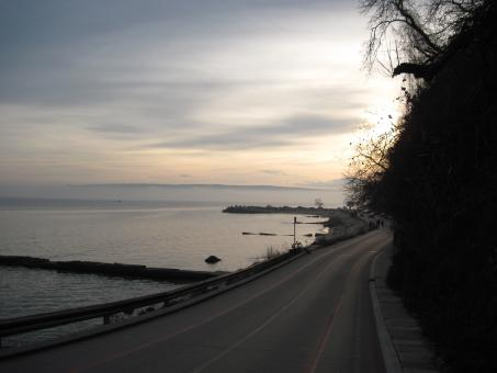 Seaside road in Varna, Bulgaria - Free Stock Photo